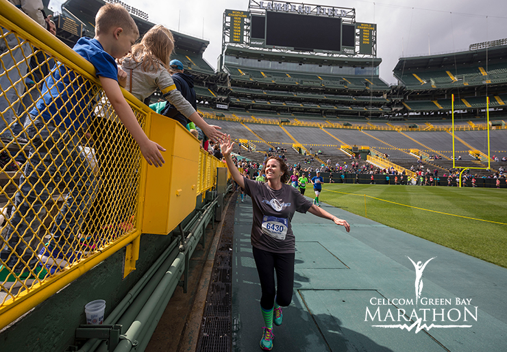 marathon lap around lambeau