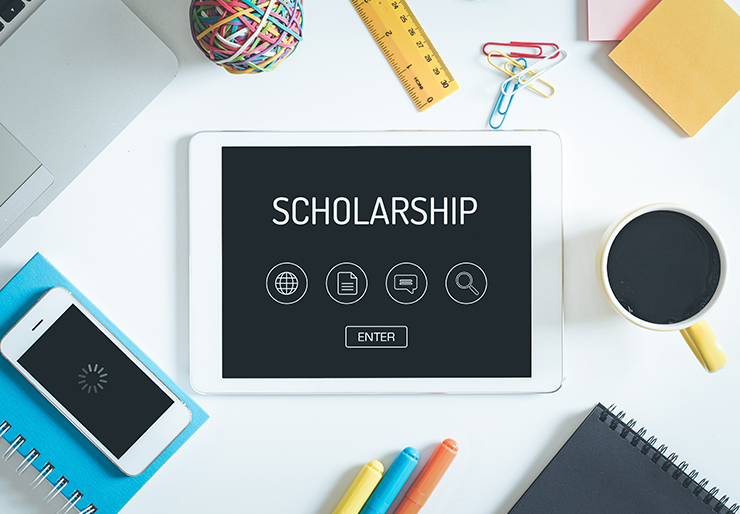 scholarship stock photo